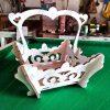 Flowers Basket design files - DXF SVG EPS AI CDR P0015