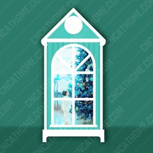Night light design files - DXF SVG EPS AI CDR P0023