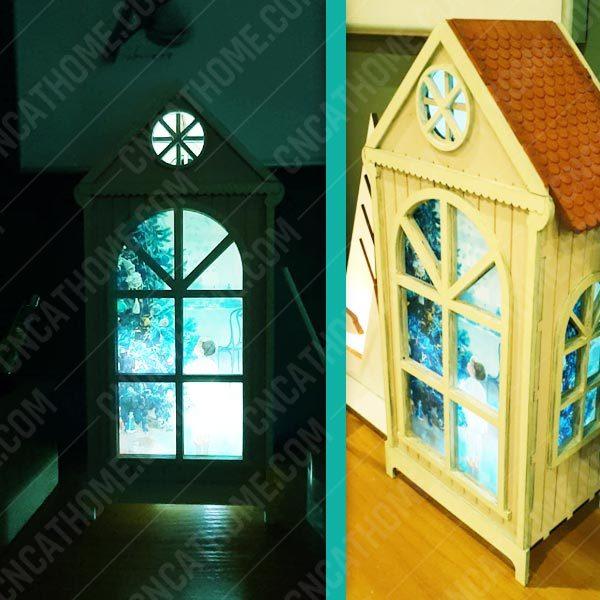 Night light design files - DXF SVG EPS AI CDR P0023