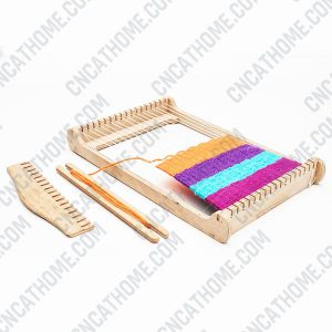 Weaving machine design files - DXF SVG EPS AI CDR P006