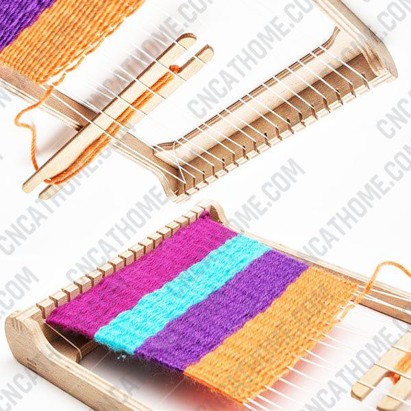 Weaving machine design files - DXF SVG EPS AI CDR P006